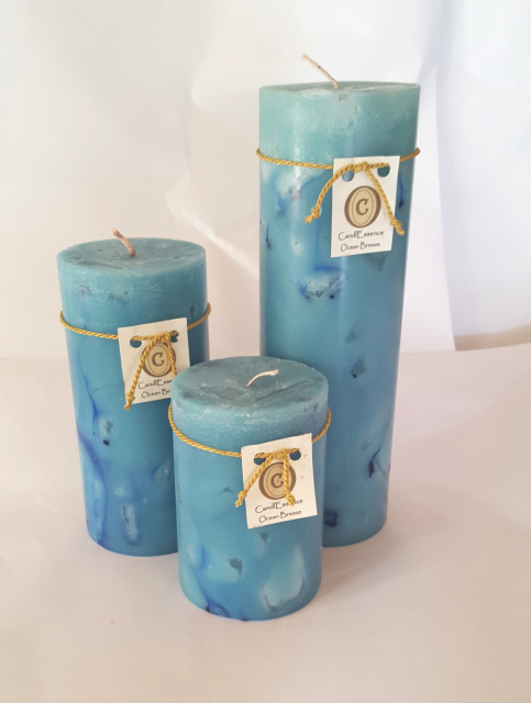 Set of Three Pillars (All the same scent)